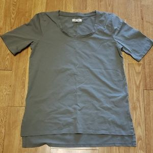 Madewell faded olive fitted tee XS